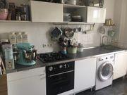 Einbauküche mit Herd Ofen Spülmaschine