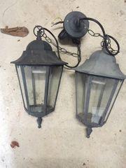2 x Außenleuchte Lampe Gartenlampe