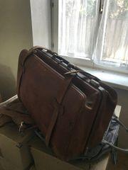 Antiker Reisekoffer - Tasche um 1920