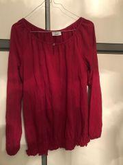Rote Bluse Damen