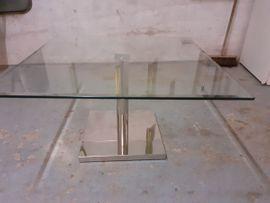 Gebrauchter Glascouchtisch