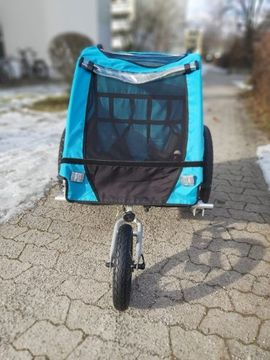 Fahrradzubehör, -teile - Verkaufe Fahrradanhänger in Super Zustand