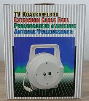 TV KOAXKABELBOX 12 Meter NEU