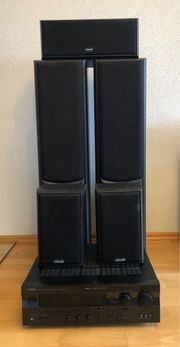 Yamaha RX-V495RDS mit Sonab 5