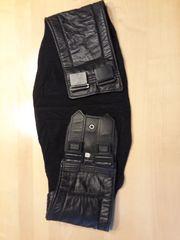 Motorrad-Gürtel Nierenschutz schwarzes Leder