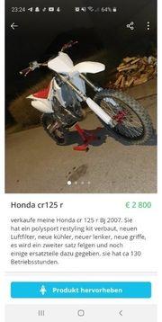 Honda cr 125 r 2007