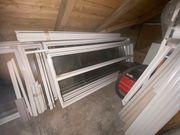 Erker aus Kunststoff-Fenstern 1530 mm