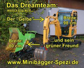 Bild 4 - Minibagger mit Profi-Fahrer für Gewerbe - Biebergemünd