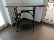 Tisch Nähmaschinentisch Antik