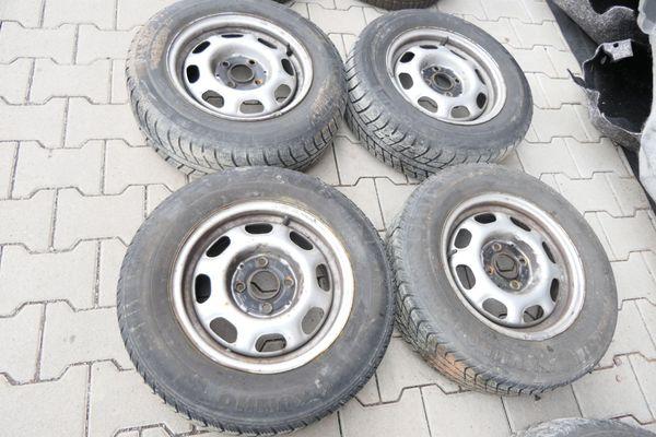 Reifen noch gut erhalten Stahlfelgen