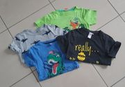 5 T-Shirts 122 128