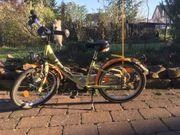 Pegasus Fahrrad für Kinder gelb
