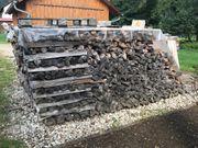 Brennholz trocken gespalten 35 -EUR