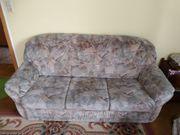 Sofagarnitur zu verschenken 3-Sitzer 2-Sitzer