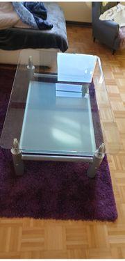 Couch Glastisch