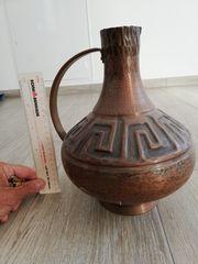 Handarbeit Kupferkrug ca 26 cm