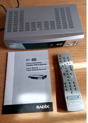 Satellitenreceiver Radix DT-X3