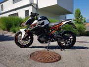 Motorrad KTM DUKE 125 wie