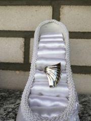 Design Silber Ring Gr 17