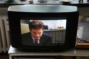 Sony Black Trintron Röhren-TV-Gerät Typ KV-C2121D