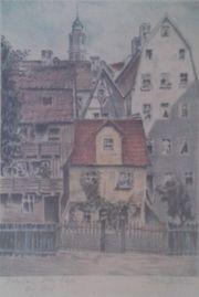 Adrianus van Zeegen Radierung Breslau