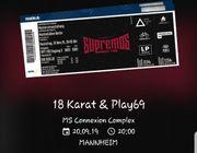 18 Karat Play69 Konzertkarten