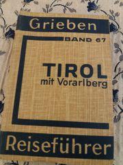 Tirol mit Vorarlberg - Reiseführer 1941
