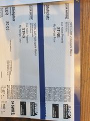2x Sting Open Air Tickets
