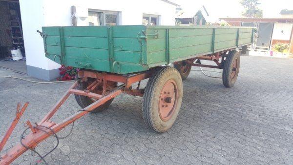 Landwirtschaftlicher Anhänger