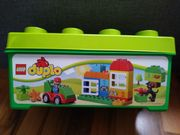 Duplo Set Steinebox kleiner Bus