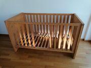 Gitterbett Holz