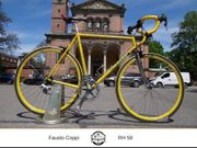 Fausto Coppi Rennrad aus Italien