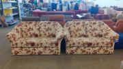 Sofa 2 teilig 150x82x90 gepflegt -