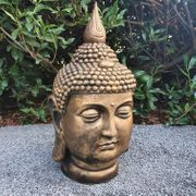 Goldener Buddha Kopf 55 cm