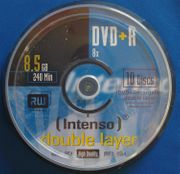 Intenso DVD R Rohlinge 8
