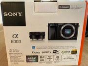 Sony System Kamera Alpha 6000