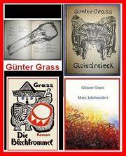 GÜNTER GRASS 10 Bde - Erstausgaben