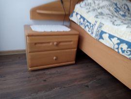 Schränke, Sonstige Schlafzimmermöbel - Doppelschlafzimmer Eiche hell teilmassiv