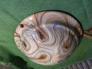 Deckenlampe Jugendstil in marmorierten Glas