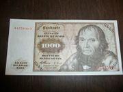 1000 DM Banknote 02 Januar