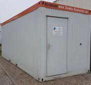 20 Bürocontainer Aufenthaltscontainer Raumcontainer gebraucht