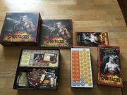 Spartacus inkl Erweiterung - Brettspiel