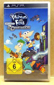 PSP Sony Phineas und Ferb