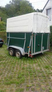 Pferdeanhänger mit Polyhaube TÜV 2021