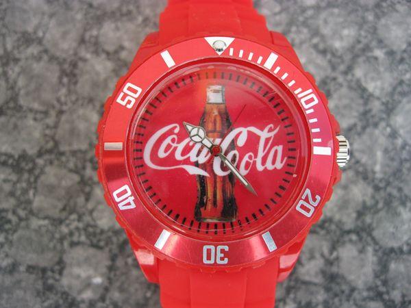 Coca-Cola Armbanduhr limited neu u