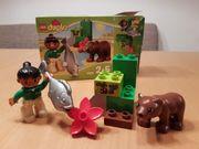 Lego DUPLO 10576 - vollständig Zoofütterung