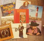 DEUTSCHE Vinyl-LPs 60er-80erJahre Schallplatten