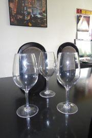 Weinglas aus Polycarbonat 3er Set