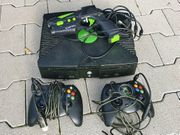 Xbox Classic mit 3 Controllern