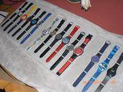 verkaufe 15 Armbanduhren